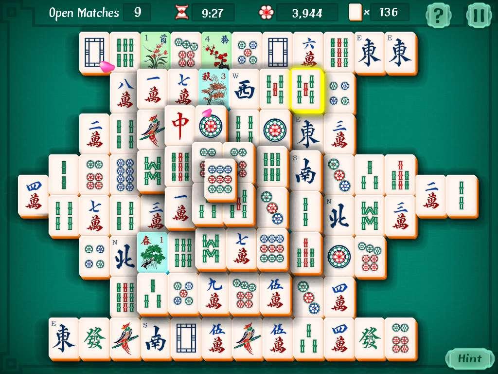 Il Mah-Jong in una versione online