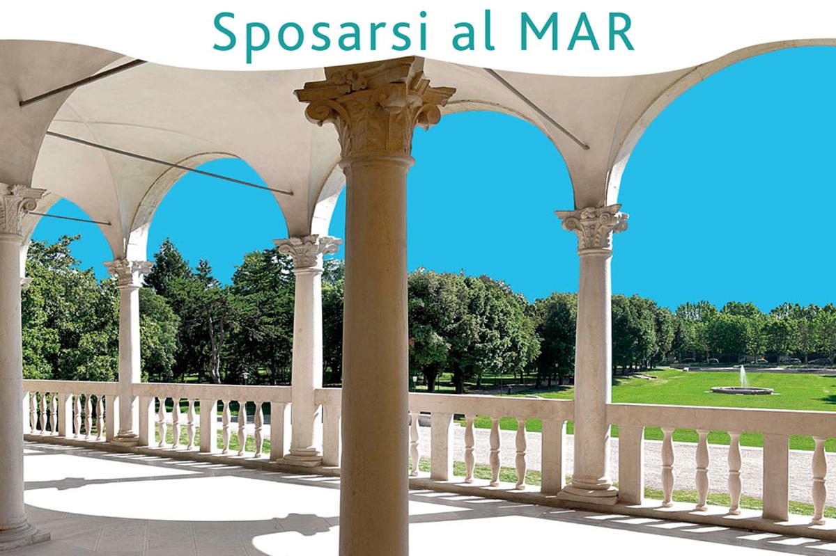 Matrimonio al museo MAR di Ravenna