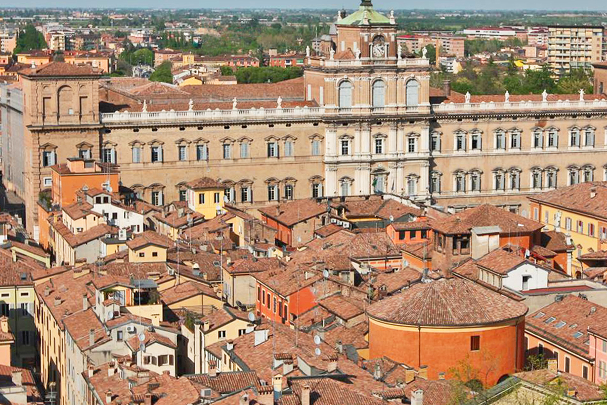Modena | Panoramic view over historic center