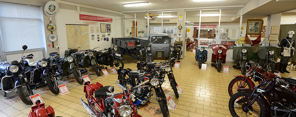 [MotorValley Presents] The Guzzi Brunelli collection in Forlimpopoli