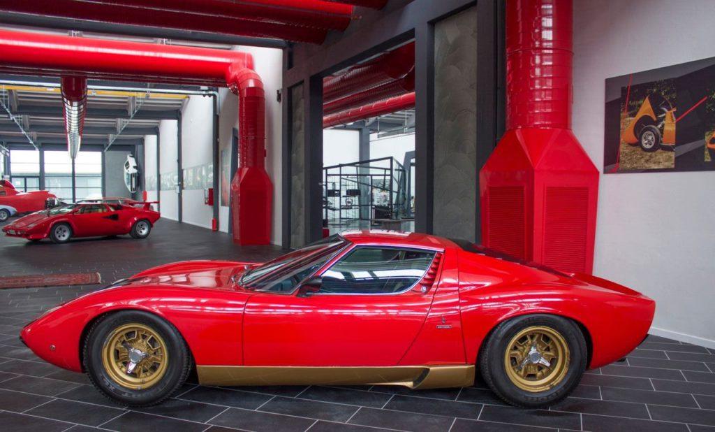 MiuraSV – Ph. Ferruccio Lamborghini Museum