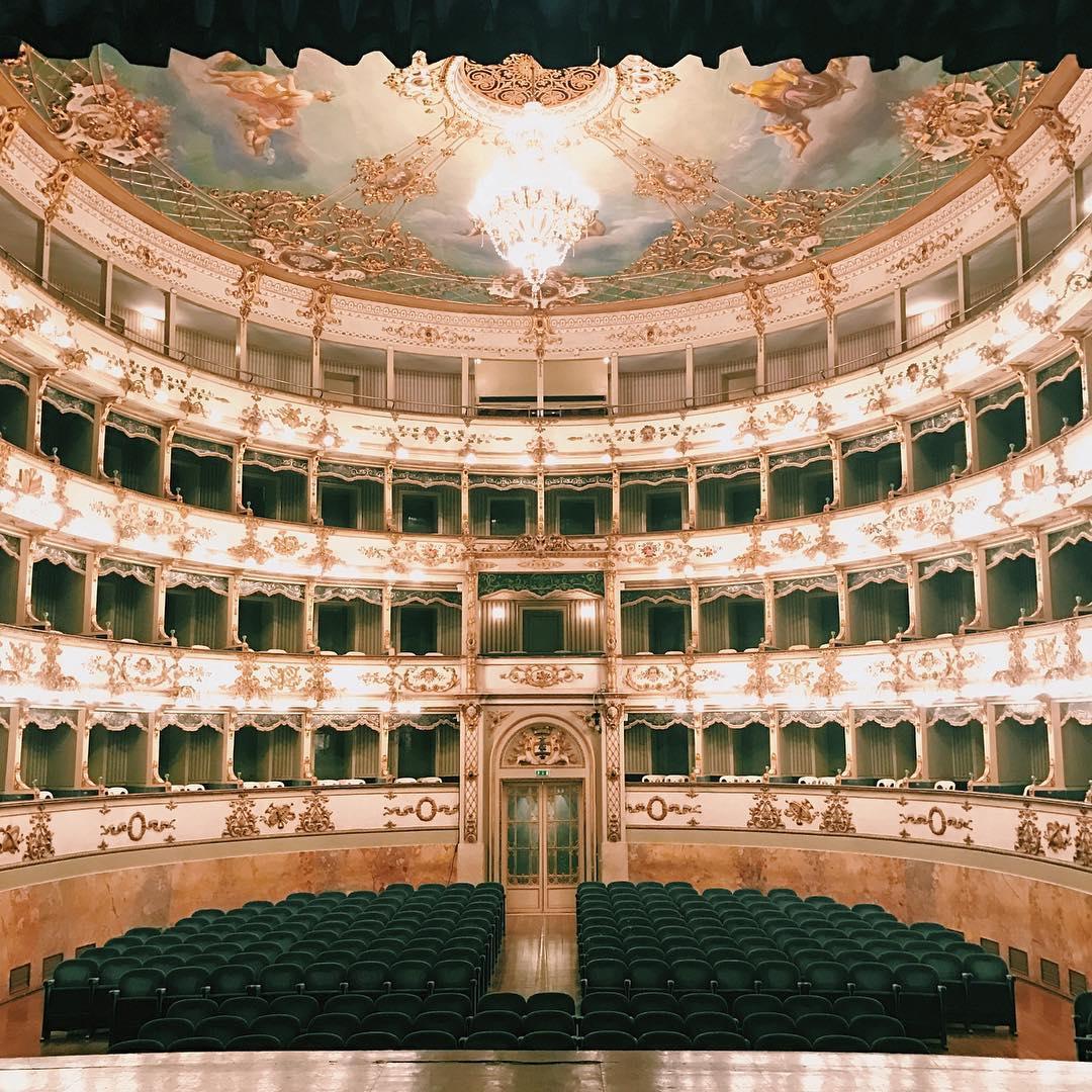 EmptyTeatroER   Il Teatro Comunale di Carpi