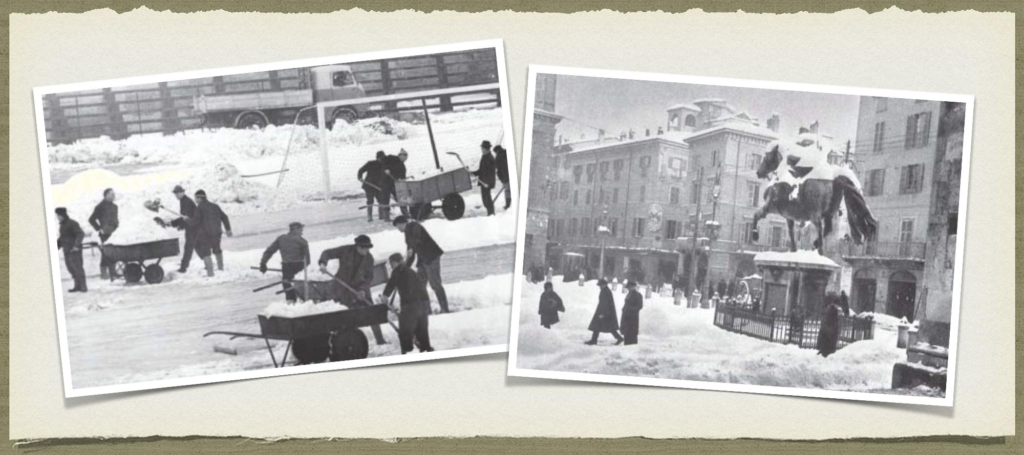 Vi racconto la neve a Piacenza