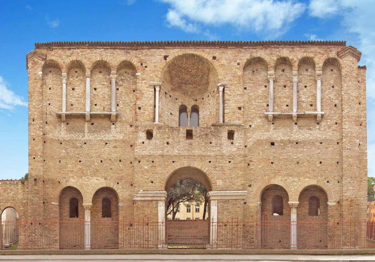 (So-called) Theoderic's Palace   Photo © RavennaTourism
