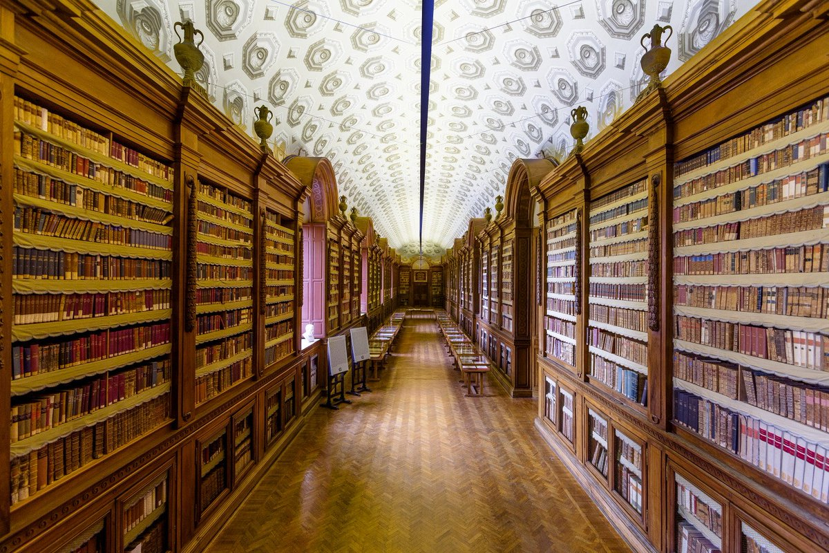 Biblioteca Palatina, Parma | Ph. @iat_parma via Twitter