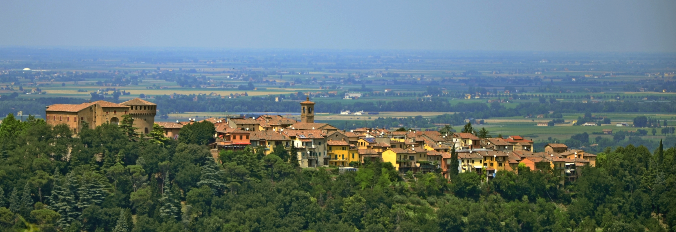 Dozza, village of murals and fine wines