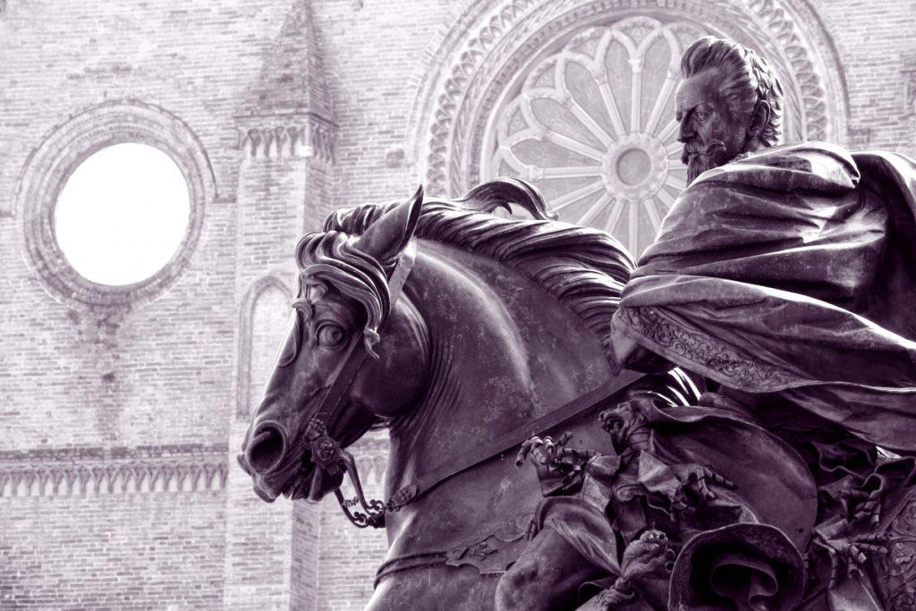Farnesian Equestrian Statue WLM2016 ph. michela marina