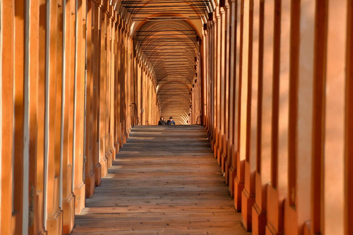 Il portico di San Luca, Bologna
