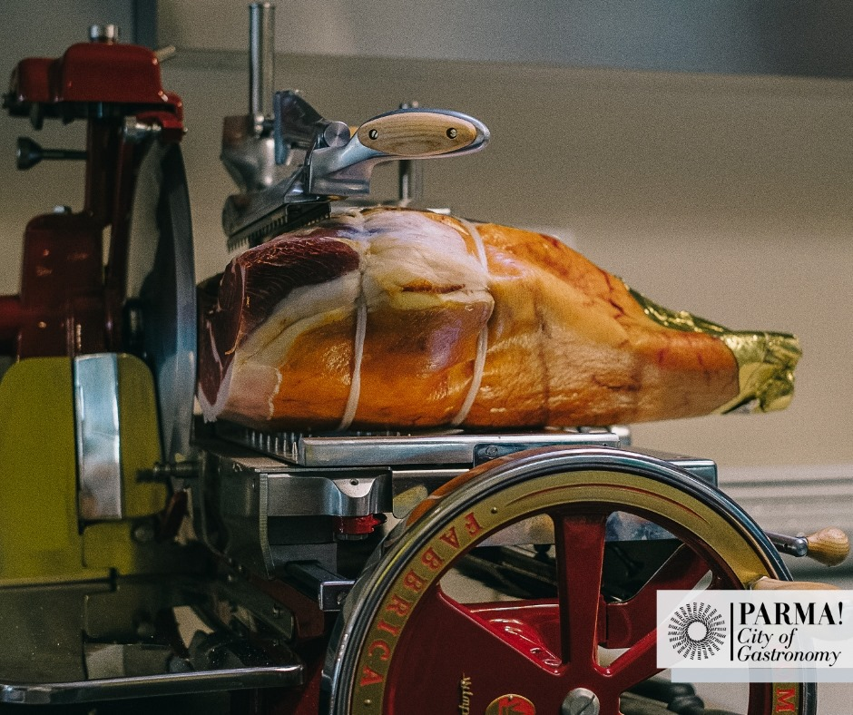 Prosciutto di Parma, Parma City of Gastronomy, via Facebook
