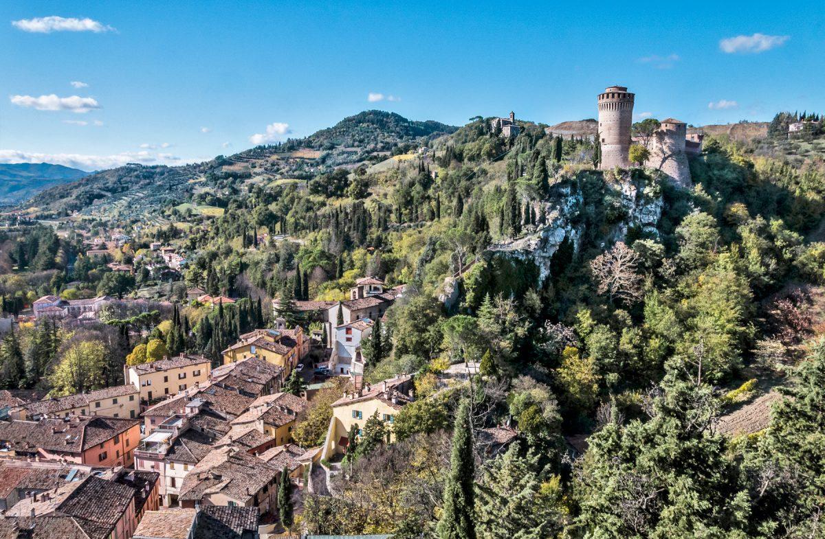 The castle of Brisighella (Ra)