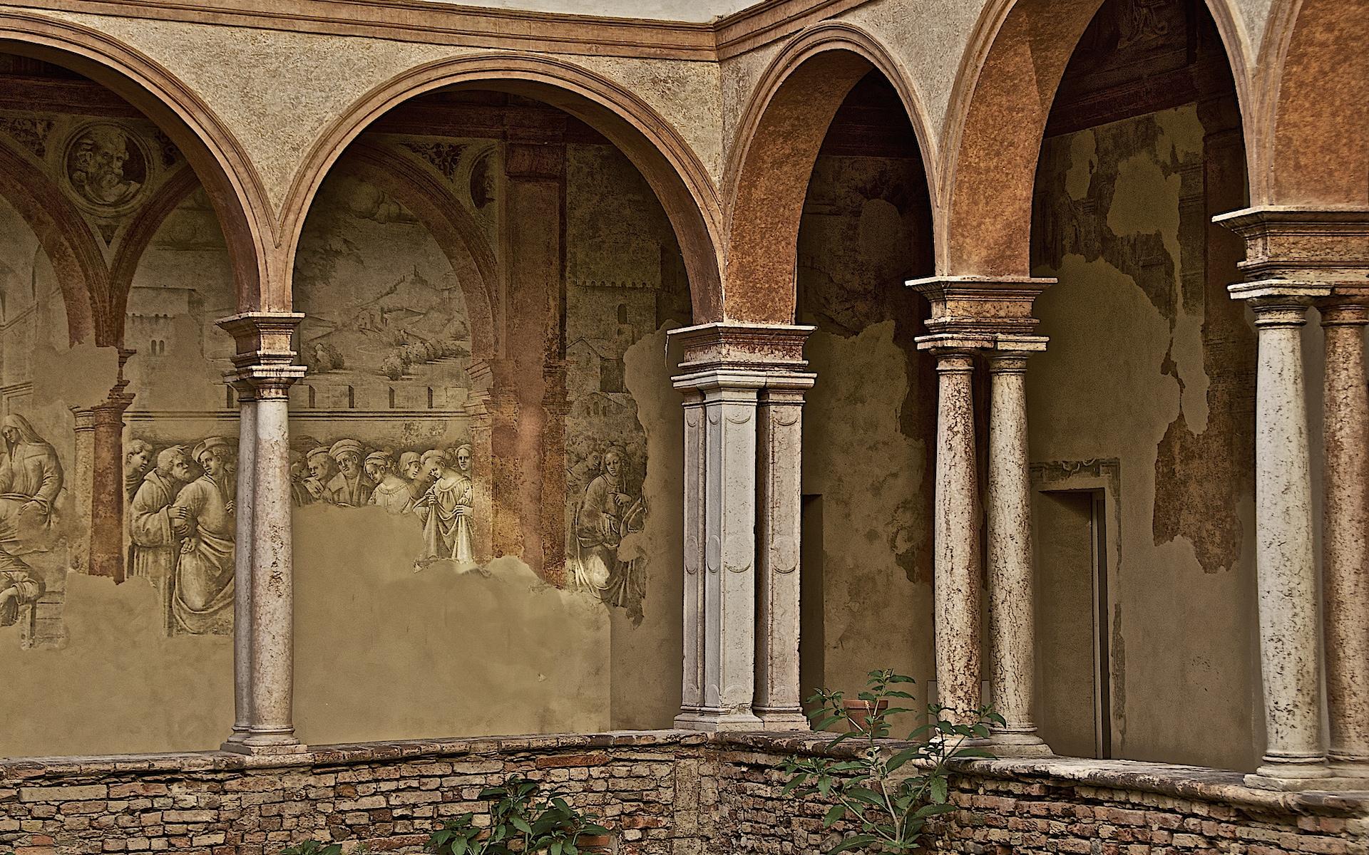 San Pietro cloisters, Reggio Emilia | Ph. Caba2011