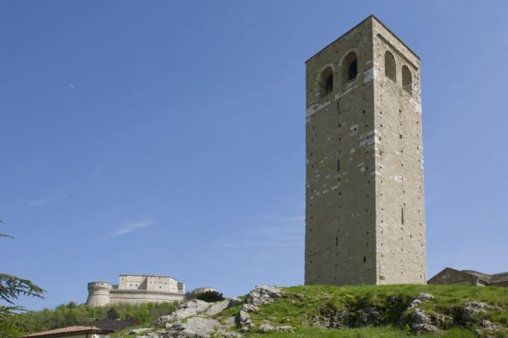 San Leo (RN) – Torre Civica, arch.fot. Provincia di Rimini   Ph. @paritani
