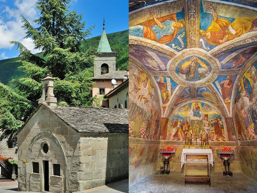 Oratory of San Rocco, Fiumalbo (16th century