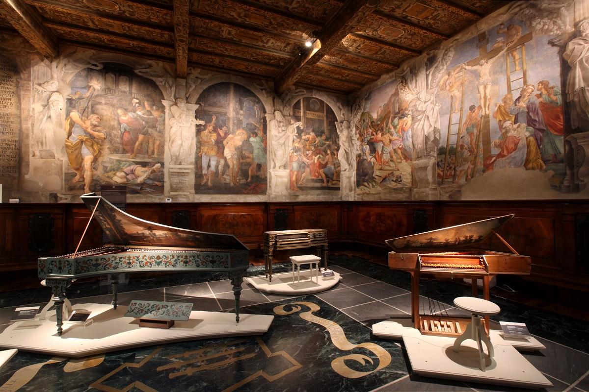 San Colombano, Collection of Luigi Ferdinando Tagliavini (Bologna)