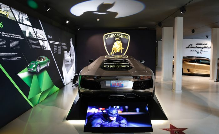 Sant'Agata bolognese (BO), Lamborghini-Aventador The Dark Night Rises