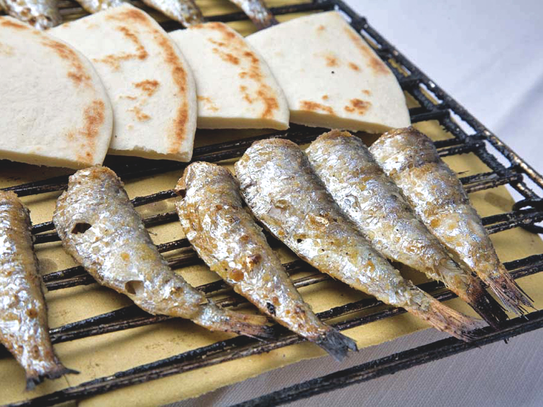 Saraghina. A jump from grill directly to heart,