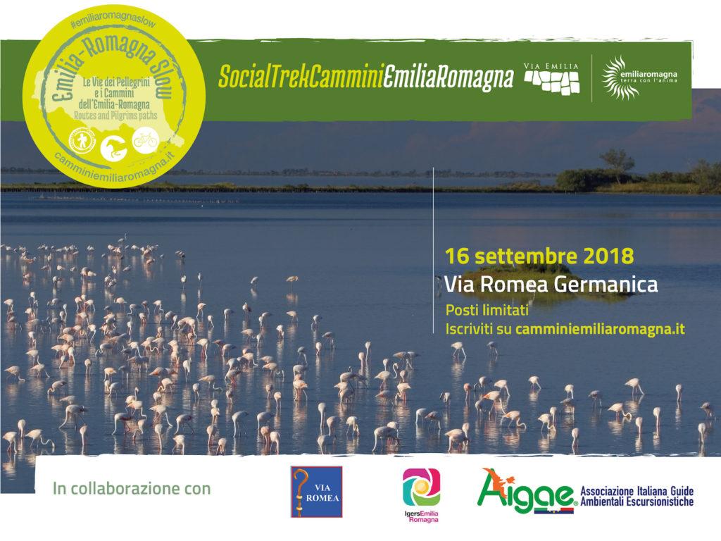 Via Romea Germanica Logo Evento Socialtrek