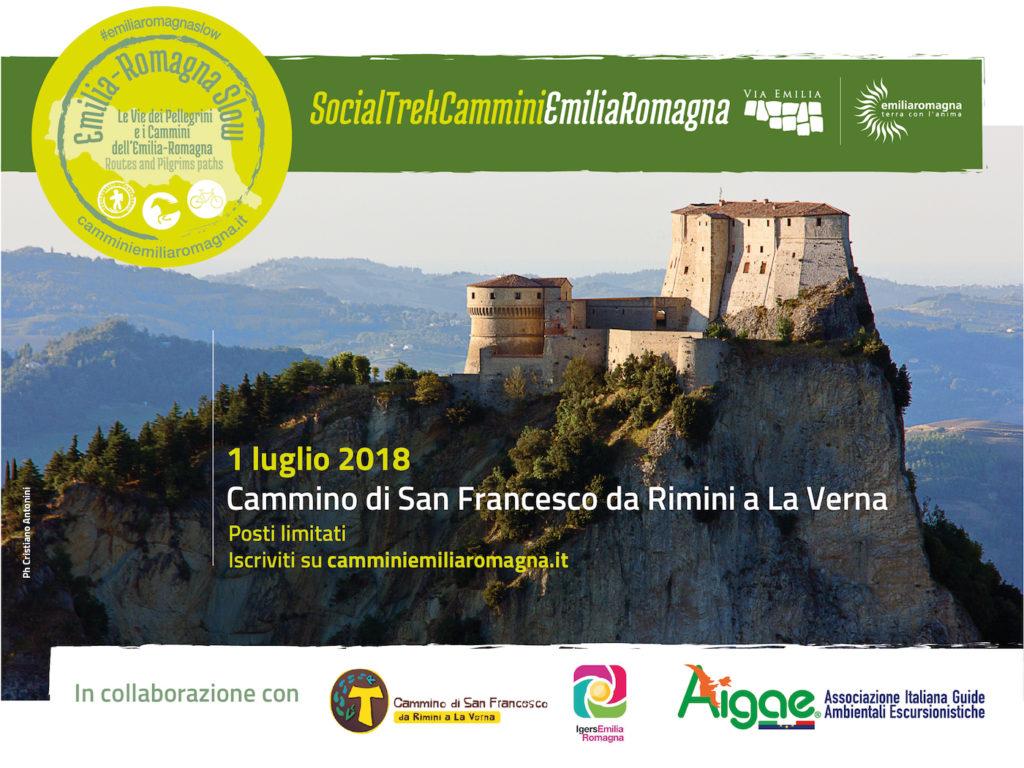 1 Luglio 2018 |Cammino di San Francesco da Rimini a La Verna