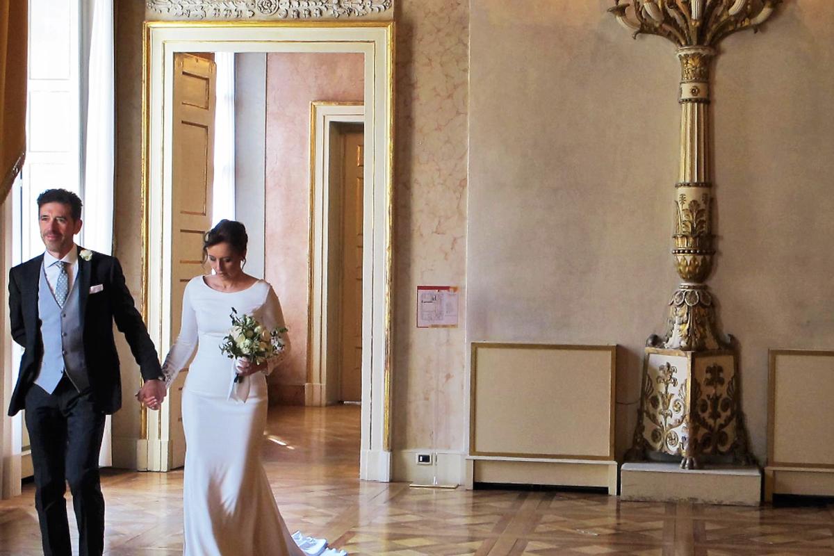 Wedding at Regio Parma Theatre | Photo © parmapress24.it