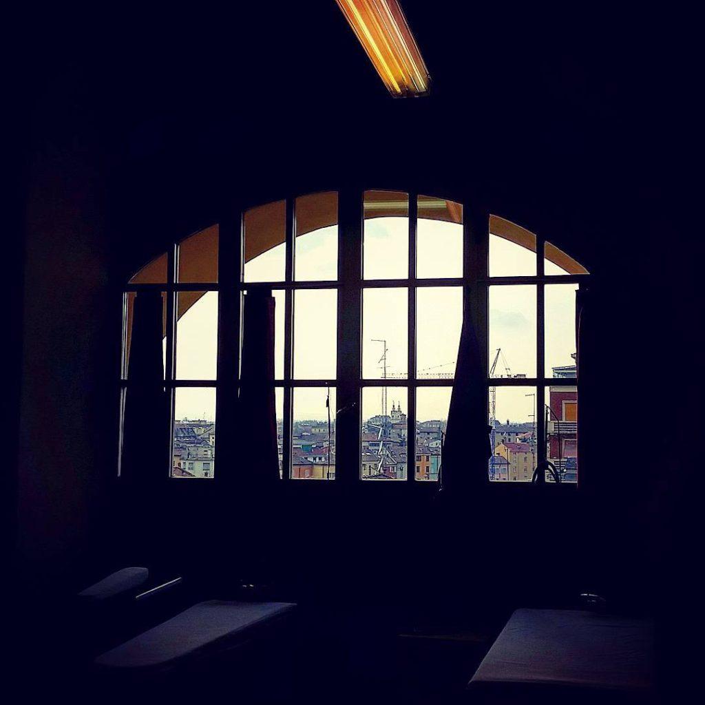 I tetti di Parma dalla Sala del vascone @themorettis