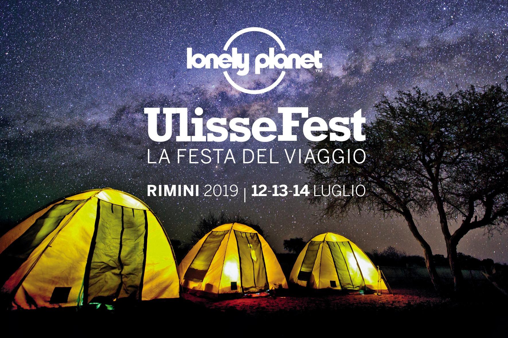 UlisseFest 2019: torna la Festa del Viaggio di Lonely Planet