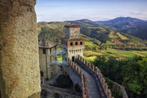 Vigoleno, the fortified village