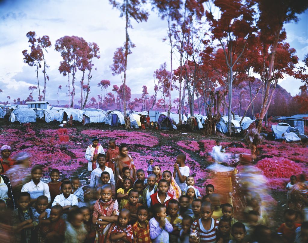 Lost Fun Zone, eastern Democratic Republic of Congo, 2012, Infra series ©Richard Mosse, Courtesy of the artist and carlier | gebauer, Berlin/Madrid