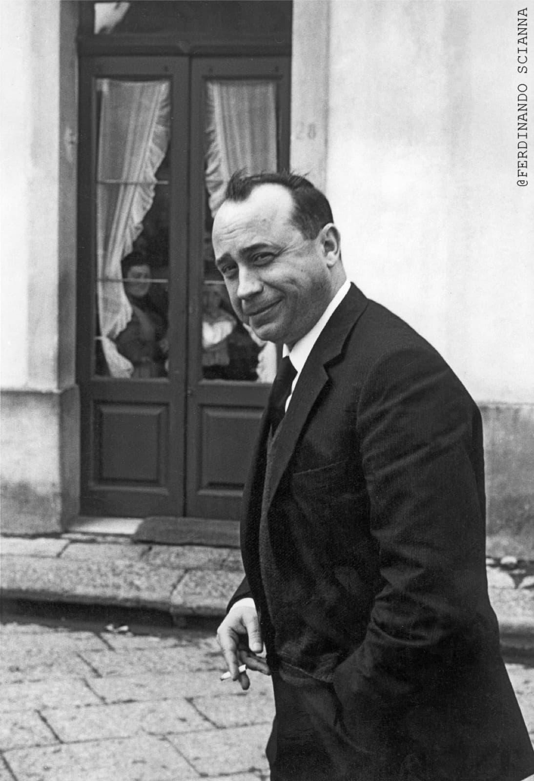 Ferdinando Scianna, Italian Writer Leonardo Sciascia © Magnum Photos; ColornoPhotoLife