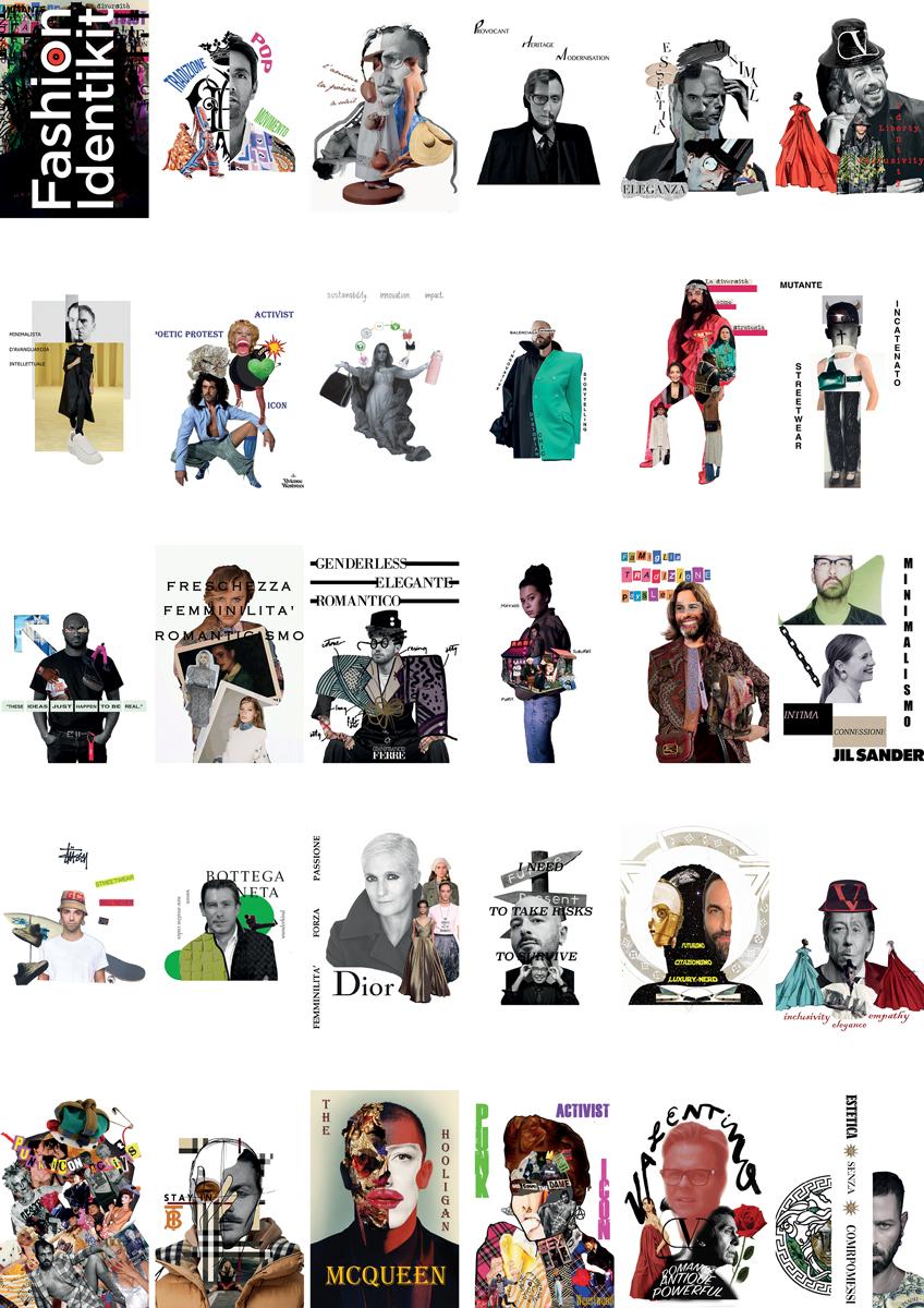 © Luca Fabbri e Leandro Palanghi, Fashion identikit. Il futuro direttore creativo, uno dei progetti a cura degli studenti e dei docenti dell'Università di Bologna – Campus di Rimini in collaborazione con SI FEST