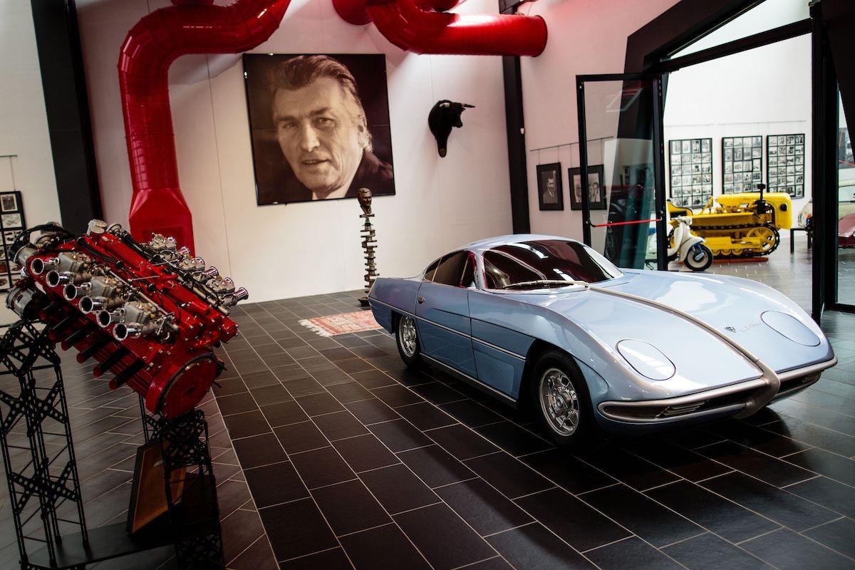 Argelato (BO), Museo Ferruccio Lamborghini, ph. GrandTour Emilbanca