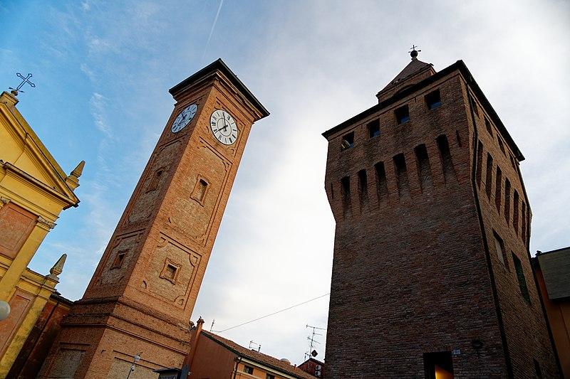Molinella (BO),Torre civica, ph. GrandTour Emilbanca